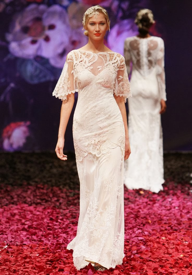 Amaryllis Wedding Dress - Claire Pettibone