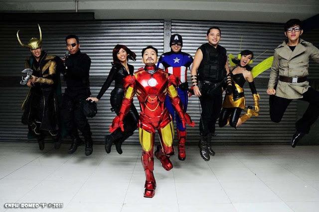 Avengers Jump por izabelcortez