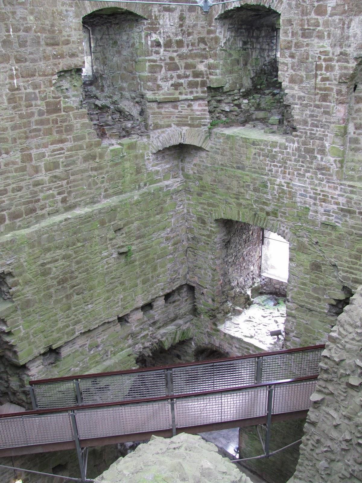 Trim Castle keep central structure, Trim, Ireland