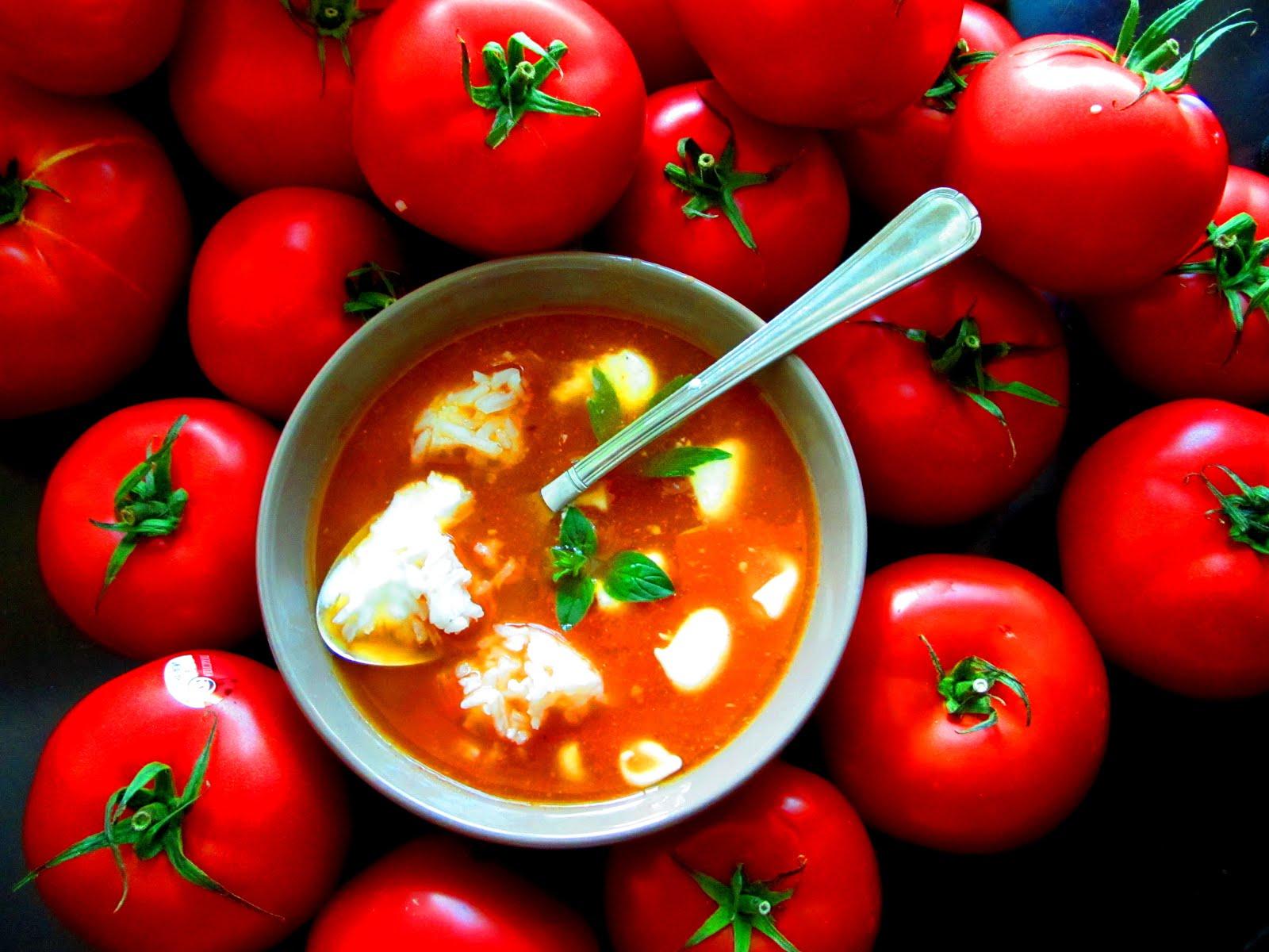 Diabelska Pomidorowa - z Pieczonymi Pomidorami