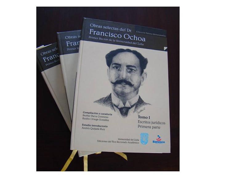 Obras selectas del Dr. Francisco Ochoa