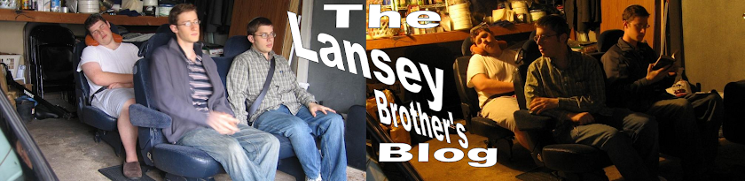 The Lansey Brothers&#39; Blog