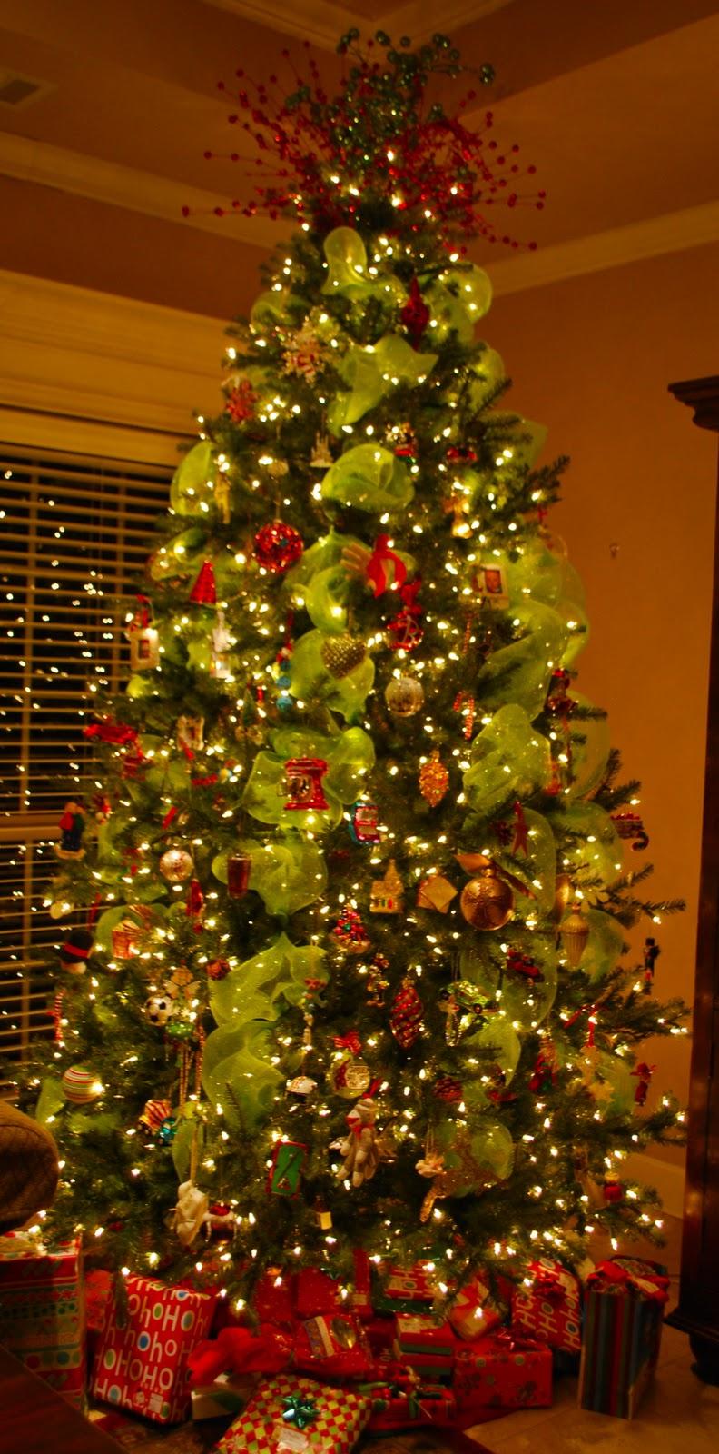 Family Christmas Trees! - Amanda Jane Brown