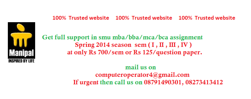 bba 1 sem solve paper I want bba solved sample papers 1st and 2nd sem from sikkim manipal university if u have pls mail me on my mail id my mail-id is molootty888@gmailcom.
