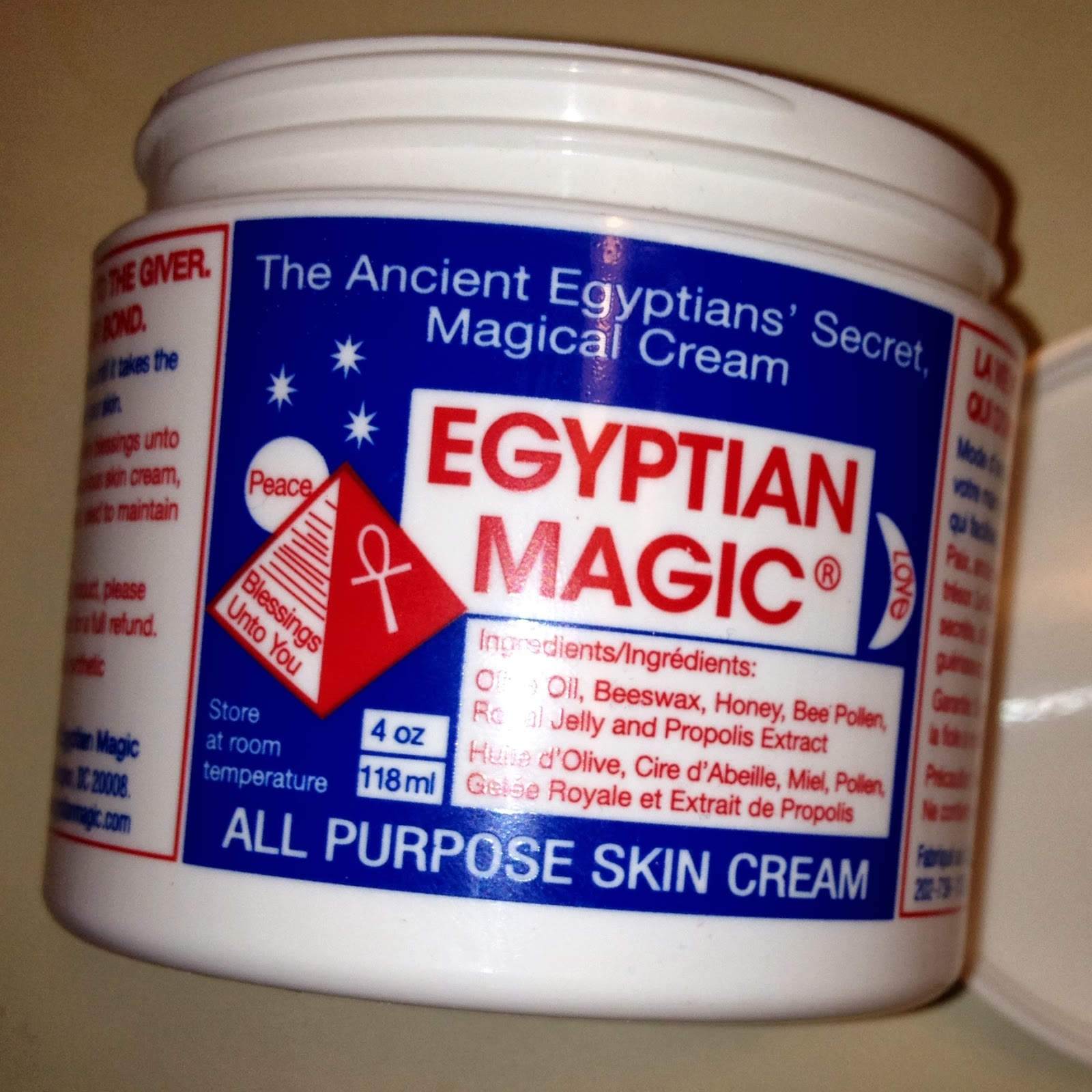 Crazy Life as Mom: Egyptian Magic skin cream review and giveaway