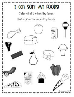 ... Kindergarten Class: Valentine's Day, Nutrition and a *freebie