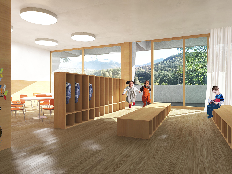 Préférence HOMA architetti Sagl: Scuola dell'infanzia - Taverne-Torricella DU97