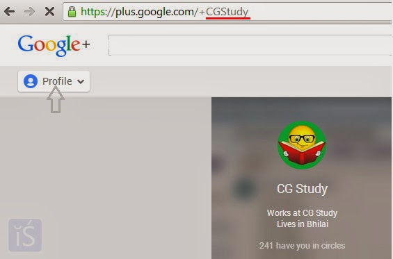 custom url for google+ for your page or google plus profile