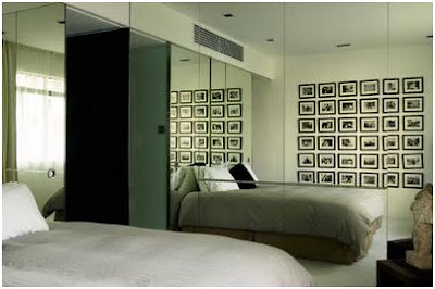 Decorating mirror bedrooms for small space