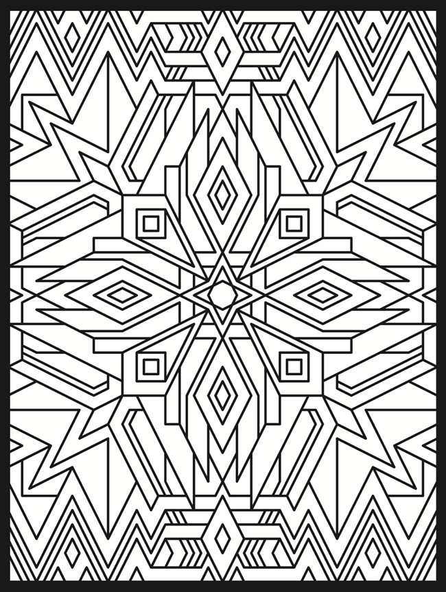 50 trippy coloring pages for Printable psychedelic coloring pages