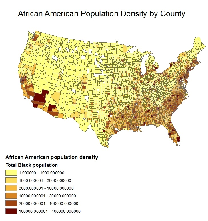Seven Wonders of Geography Week 8 Lab Census Data Maps