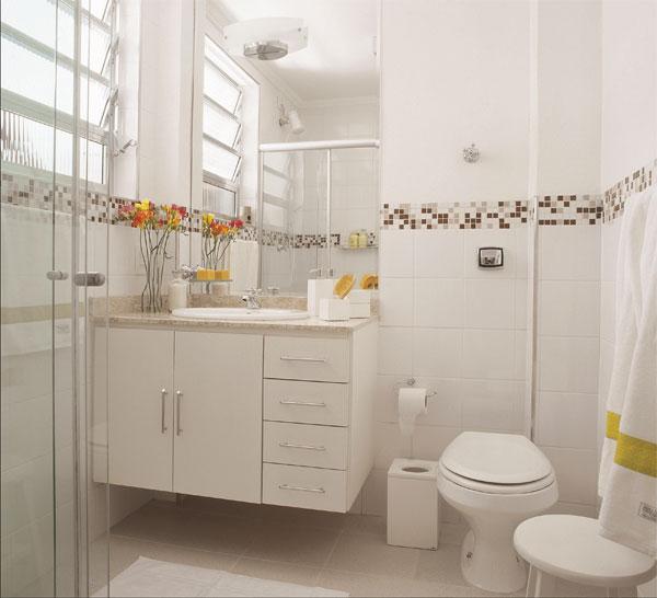 Reciclar, reformar e decorar Outubro 2012 # Reformar Banheiro Pequeno Gastando Pouco