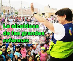 SUSANA VILLARAN, la Alcaldesa de las Grandes Reformas!!