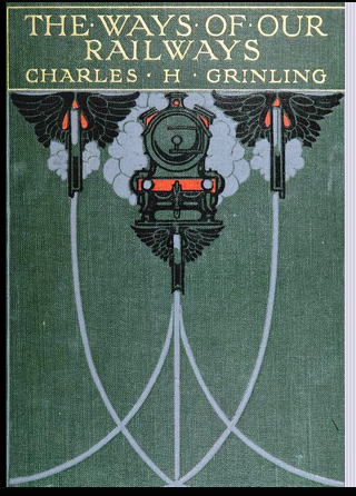 An old book cover