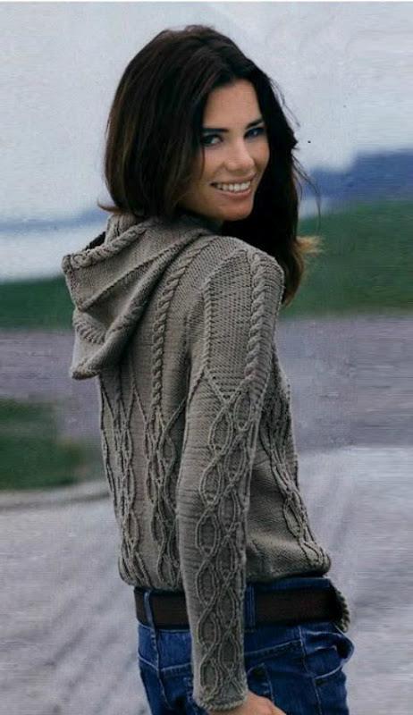 Женские свитера вязание
