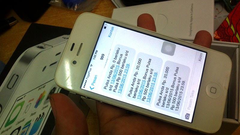 Cara Inject Ulang Smartfren pada iPhone 4 CDMA Sprint