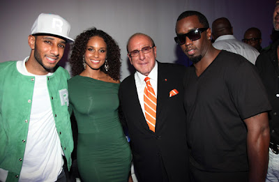 Swizz Beats clive davis alicia keys Reethym of Life