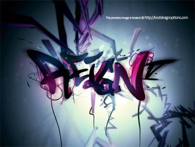 graffiti wallpaper desktop 3d. Graffiti Wallpaper Desktop 3d