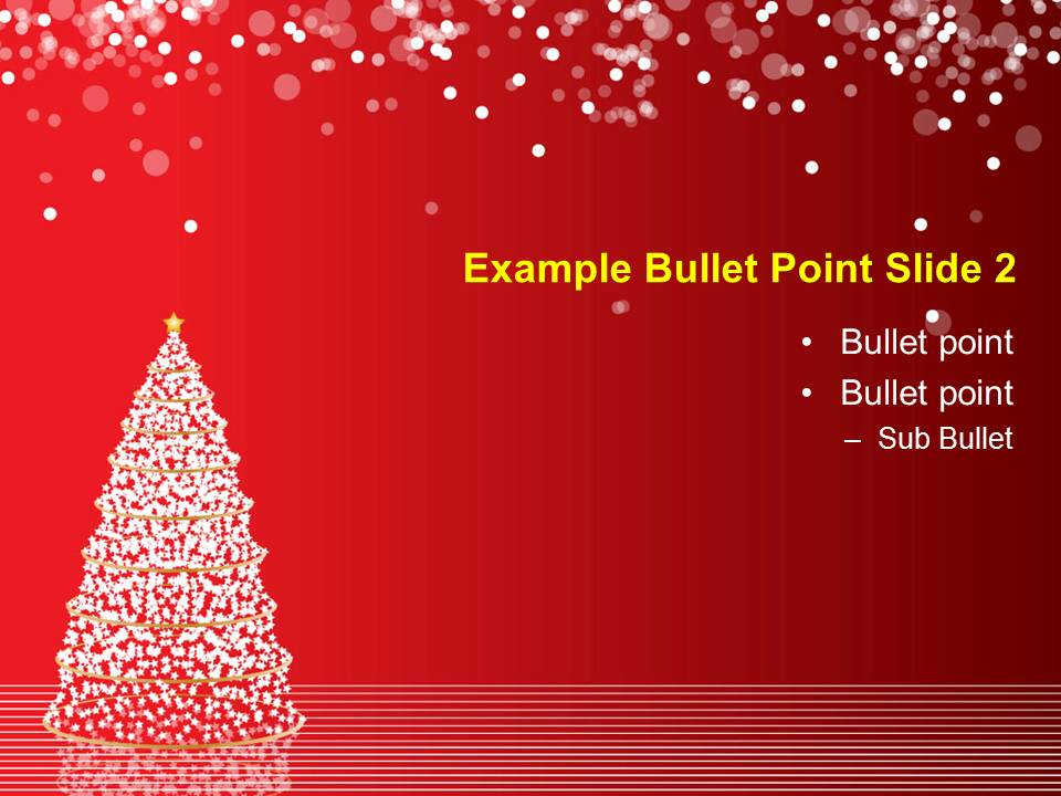 Free Download 2012 Christmas Powerpoint Templates - Everything