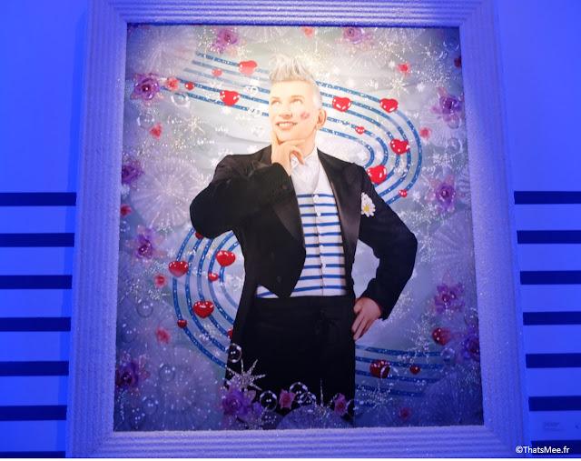 affiche expo jean-paul Gaultier Grand palais Paris © Pierre et Gilles De la rue aux étoiles