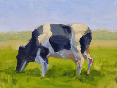 No. 343 - Grazing Cow
