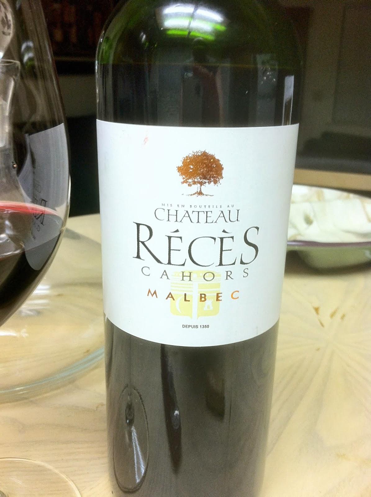 foto de The World of Wine Review: 2009 Chateau Reces Malbec