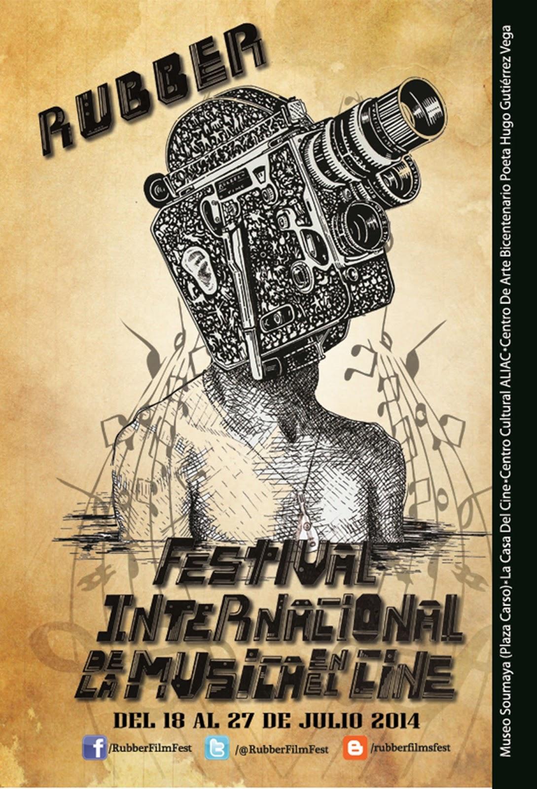 Festival Internacional de la Música en el Cine Rubber 2014