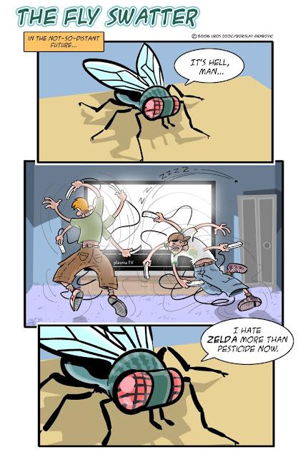 come eliminare le mosche - mosche e Wii - durata della vita e attività fisica