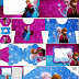 Frozen in Blue and Purple: Free Printable Invitations.
