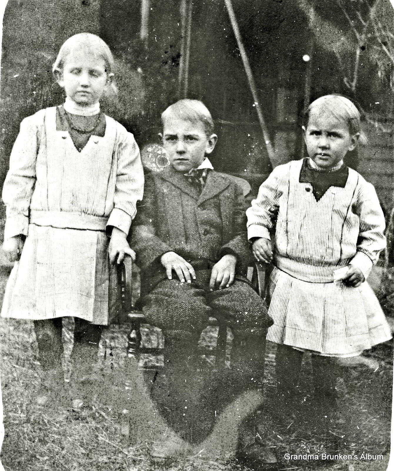Pauline, Carl and Jennie Martensen