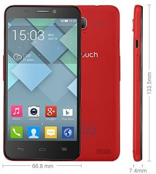 Nuovo smartphone di fascia media compatto e leggero di Alcatel