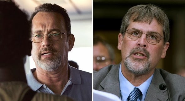 Tom Hanks vs. the real Captain Phillips