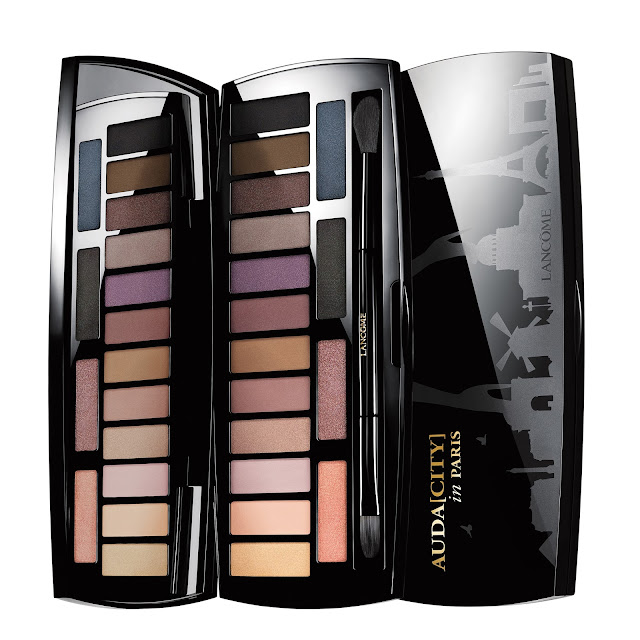 Lancome Auda[city] in Paris eyeshadow palette