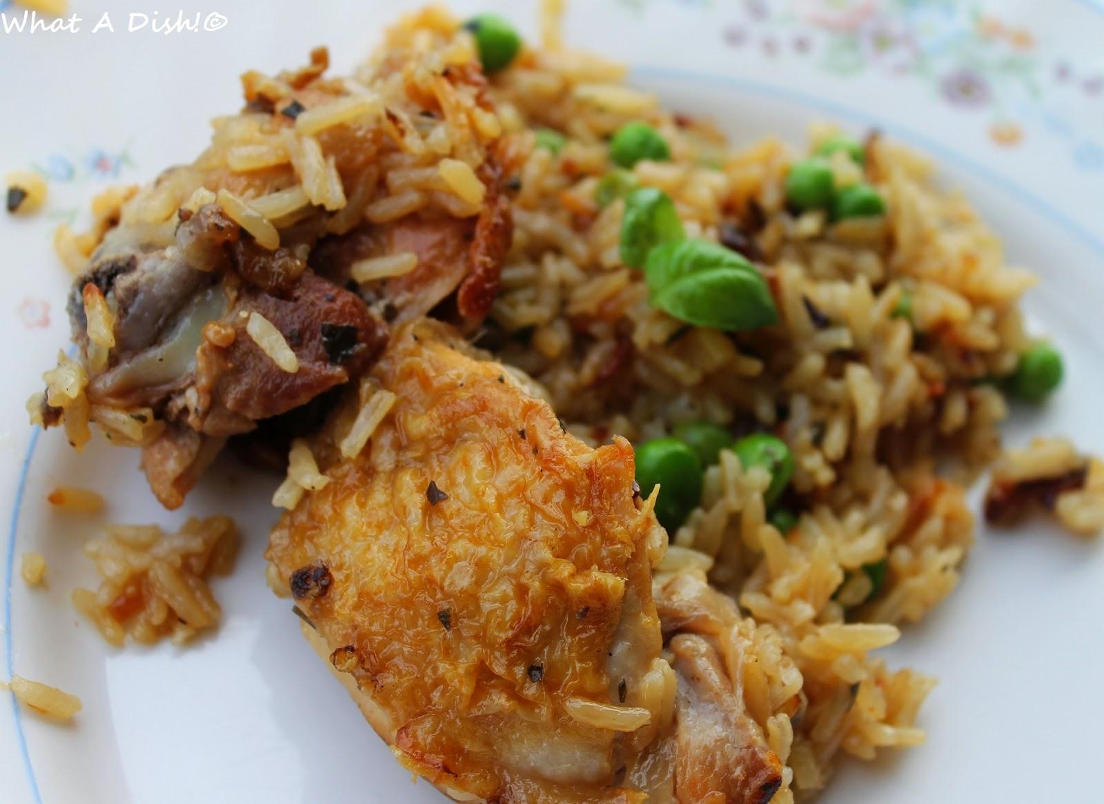 One-Pot Chicken And Brown Rice Recipe — Dishmaps