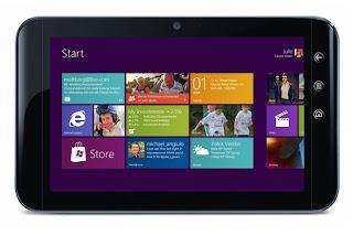 Harga dan Spesifikasi Tablet Windows 8