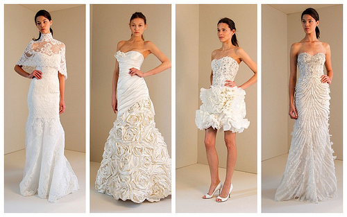 The Great Work of Monique Lhuillier Wedding Dresses