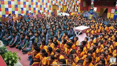 Krishna Janmashtami 2013 by girls of Jagadguru Kripalu Ji Maharaj education