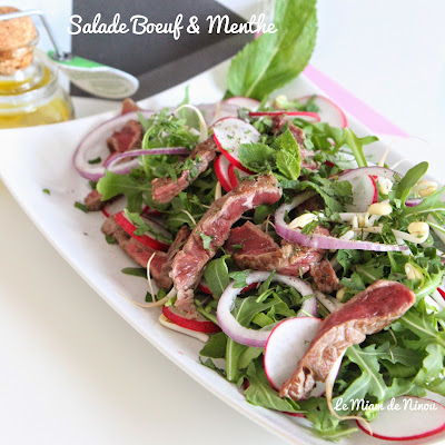 Illustration 2 Salade Boeuf & Menthe