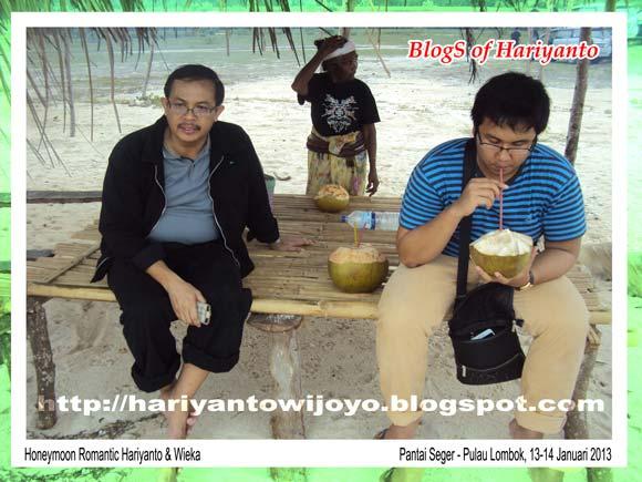 Pantai Seger Pulau Lombok - Januari 2013