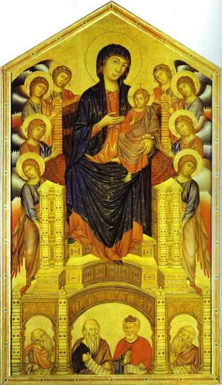 Ch. 14 Cimabue vs. Giotto's interpretation of Madonna ...