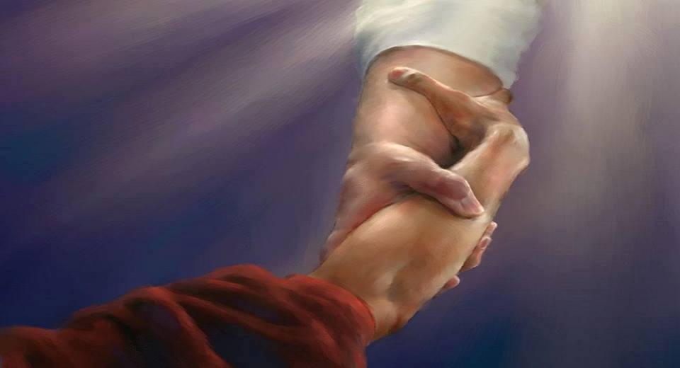 Resultado de imagem para O Senhor nos sustenta pela mão