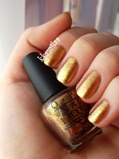 O.P.I Skyfall Collection - Golden Eye
