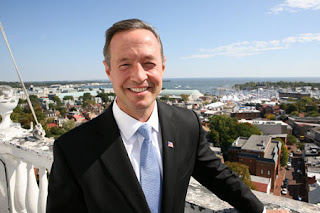Irish American Maryland governor Martin O'Malley