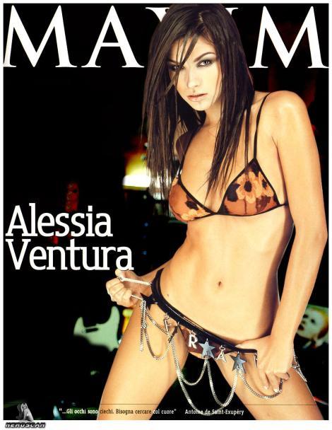 Alessia Ventura - Bikini on Maxim
