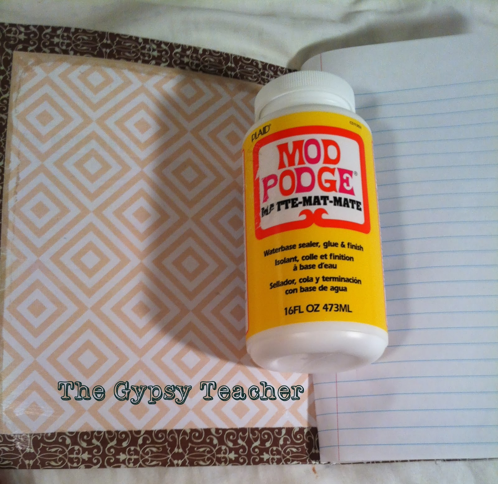 cover letter for a teacher%0A First  apply a light and even coat of Mod Podge to the cover on one side