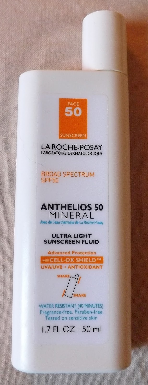 Naesays La Roche Posay Anthelios 50 Mineral Ultra Light