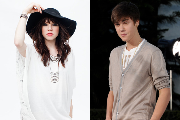 Carly Rae Jepsen Justin Bieber
