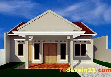 Gambar Desain Rumah Minimalis Type 90 - Depan