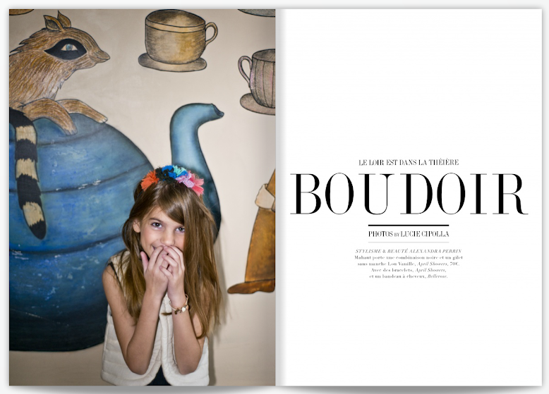 BOUDOIR - MAGAZINE SMALLABLE PRINTEMPS 2013
