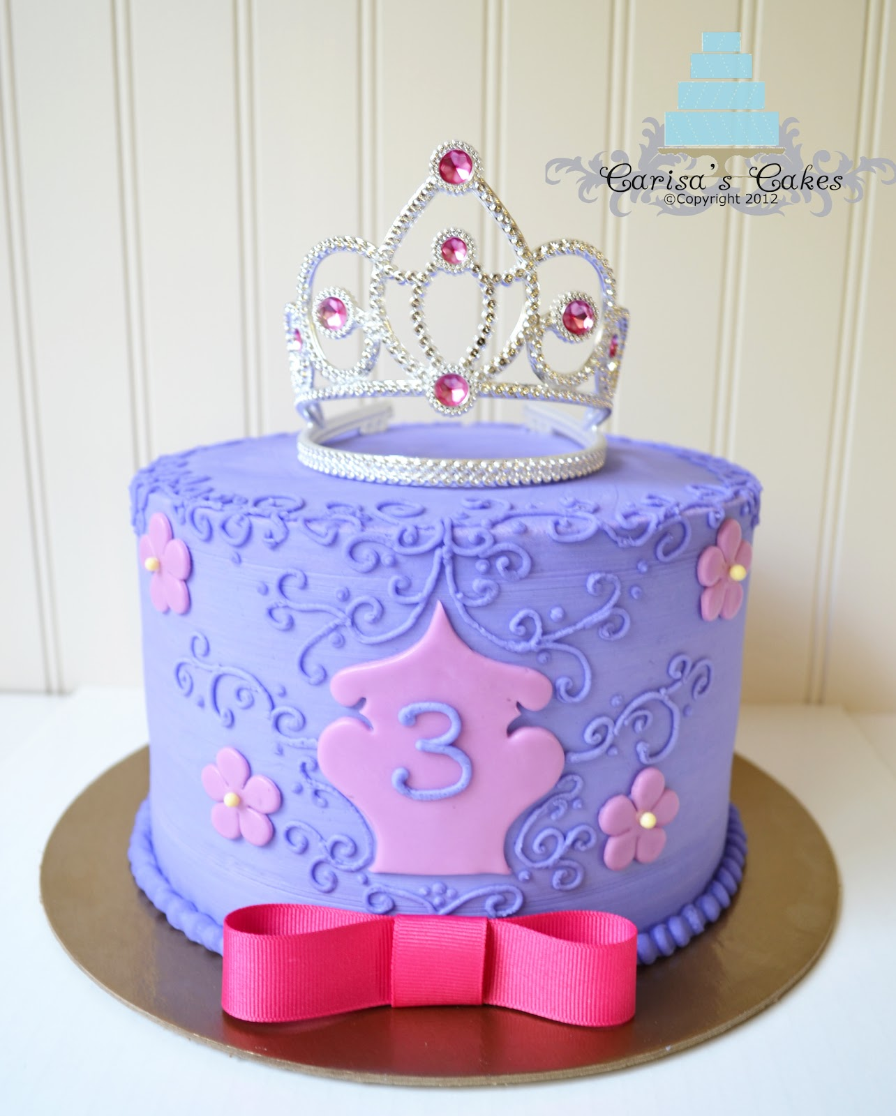 carisa u0026 39 s cakes  princess themed cake